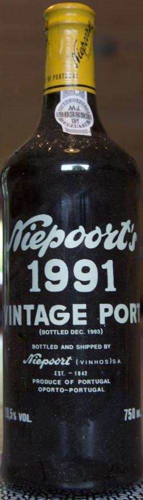 1991 Niepoort Vintage