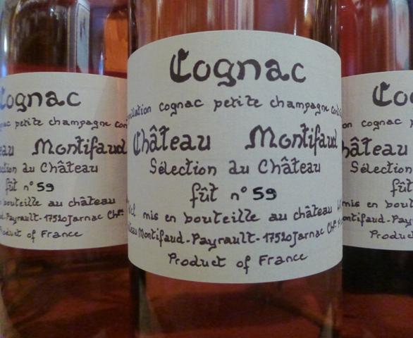 Château Montifaud Sélection du Château Cognac Petite Champagne
