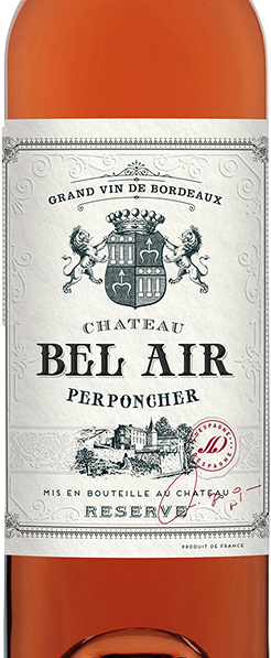 2019 Chateau Bel Air Perponcher Bordeaux Rosé