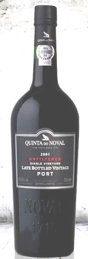 2012 Unfiltered Singel Vineyard Late Bottled Vintage Port  0,375 Fl.