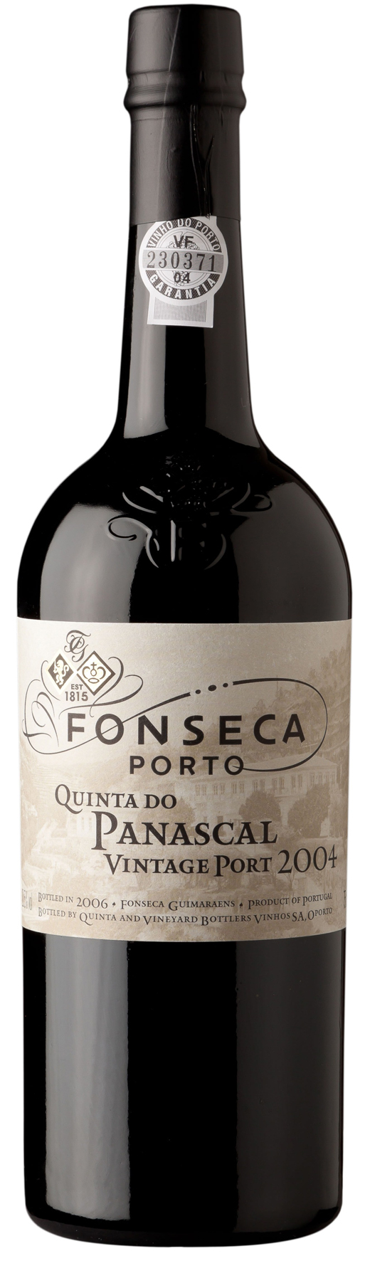 2004 Quinta do Panascal Vintage Port 0,375 Flasche