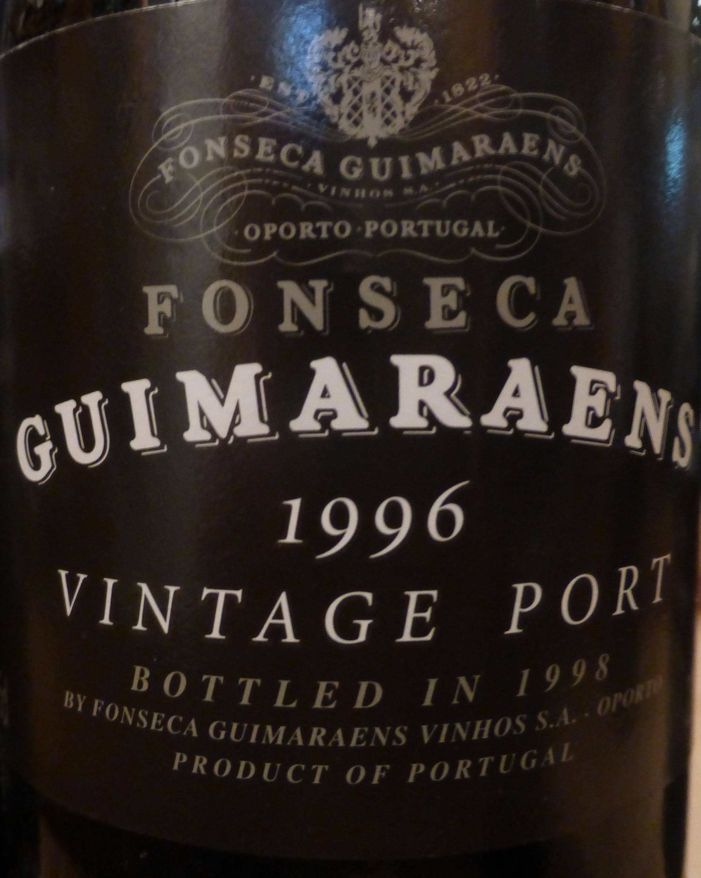 1996 Fonseca Guimaraens Vintage Port