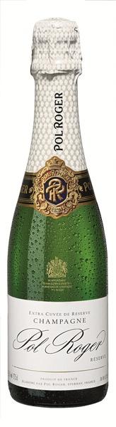 Champagne Pol Roger Brut White Foil 0,375 Fl.