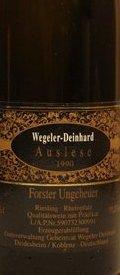 1990 Forster Ungeheuer Riesling Auslese, Wegeler-Deinhard, Pfalz