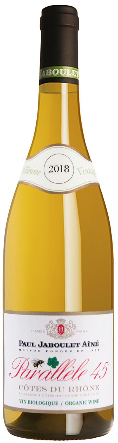 2018 Parallèle 45 Blanc Côtes du Rhone AOC, Paul Jaboulet Aîné