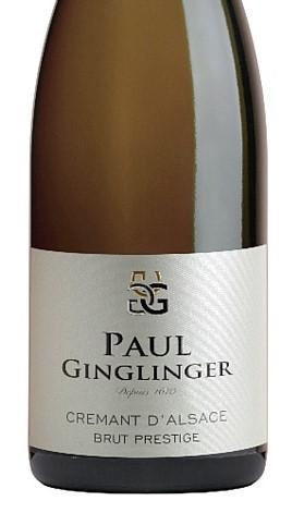 Crémant d'Alsace AOC Brut Prestige 2018 Paul Ginglinger