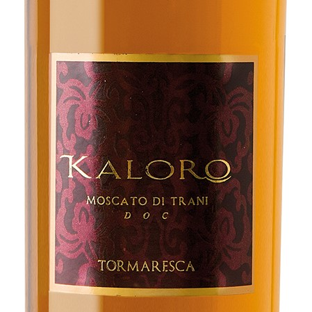 2016 Kaloro, Moscato di Trani DOC Dolce Naturale, Tomaresca
