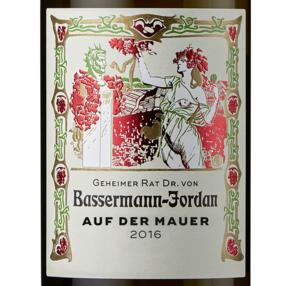 """2016 """"auf der Mauer"""" Riesling trocken - Bassermann-Jordan"""