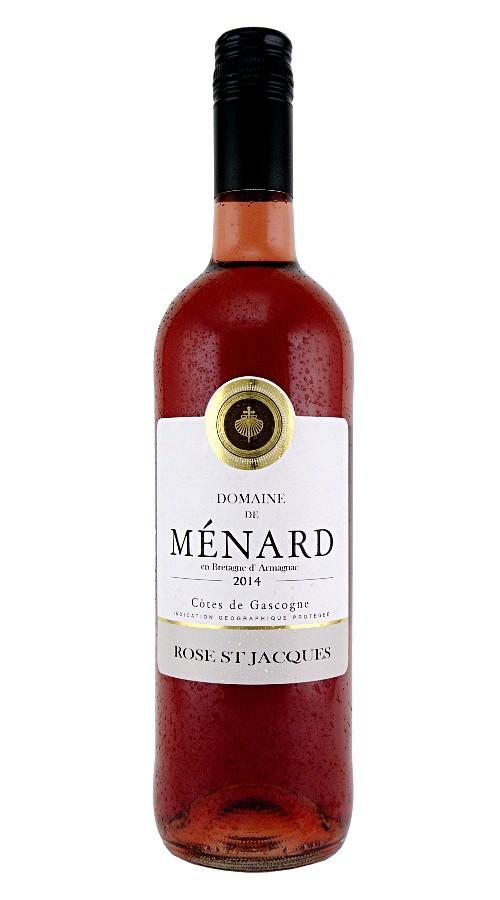 2018 Rosé St Jacques, Ménard, Côtes de Gascogne IGT