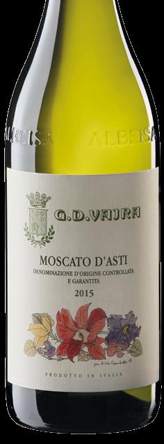 2018 Moscato d'Asti DOCG, Vajra