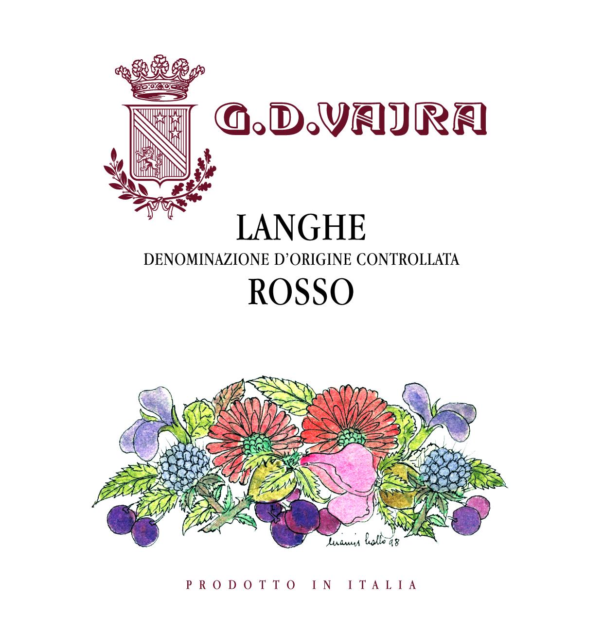 2017 Langhe Rosso DOC,G.D.Vajra