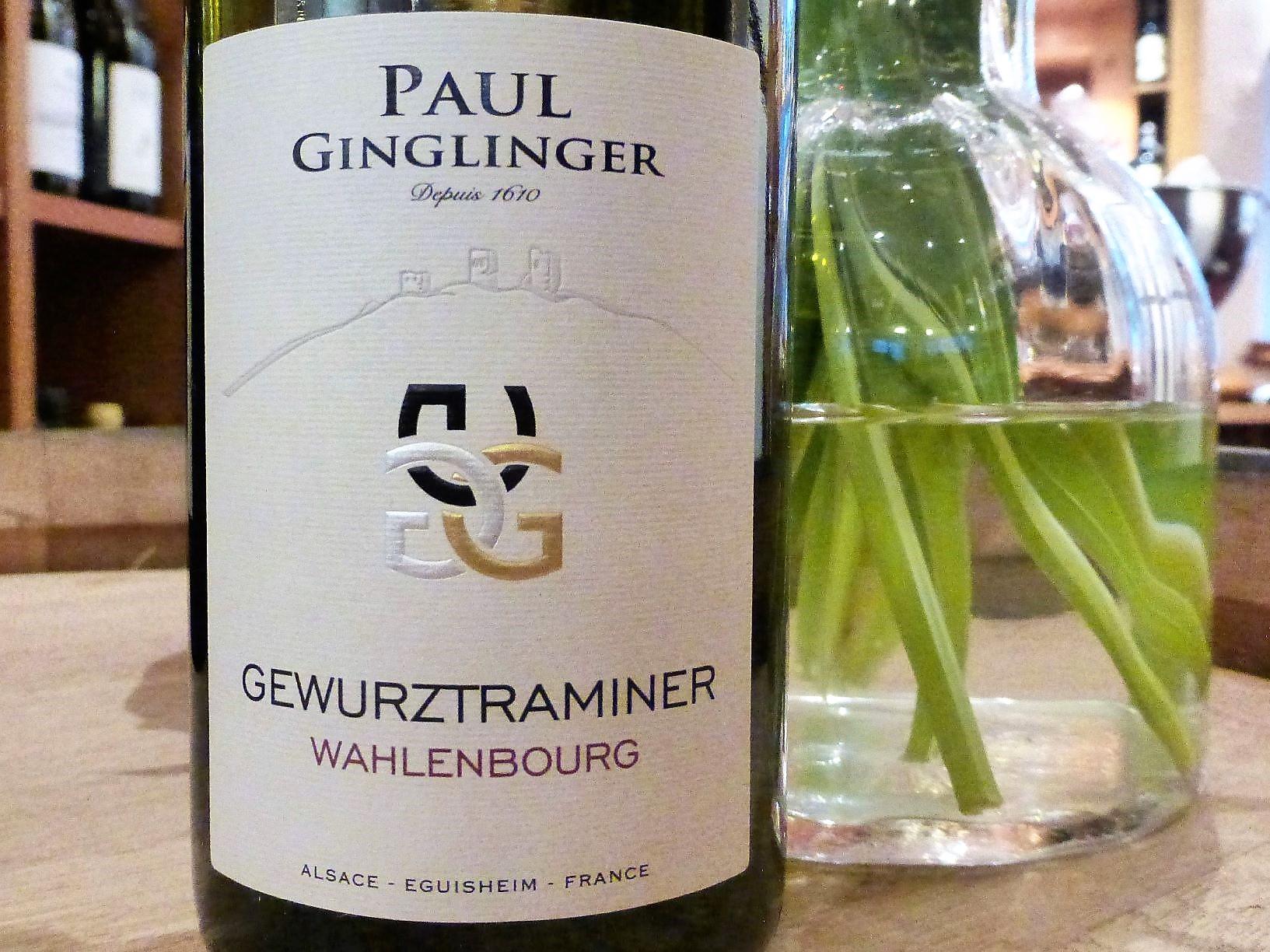 2016 Gewürztraminer Wahlenbourg Alsace AOC, Paul Ginglinger