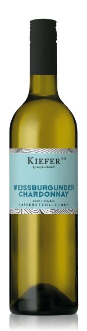2018 Weissburgunder Chardonnay trocken, Weingut Kiefer
